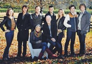 David Smallbone and family